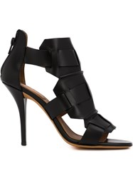 Givenchy Woven Sandal Booties Black