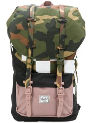 Herschel Supply Co. Green Camouflage Backpack