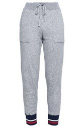Joie French Cotton Terry Track Pants Stone