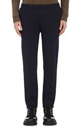 Moncler Men's Sportivo Fleece Jogger Pants Navy