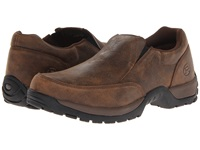 Roper Performance Slip On W Rider Button Brown Men's Slip On Shoes