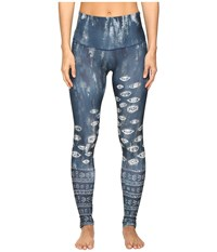 Onzie The Eye High Rise Graphic Leggings The Eye Women's Casual Pants Blue