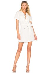 L'academie The Safari Dress White