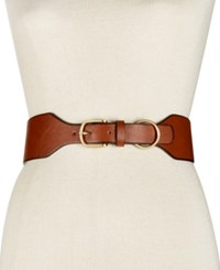 Styleandco. Style And Co. Tapered Casual Stretch Belt Only At Macy's Cognac