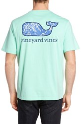 Vineyard Vines Men's Holiday Sail Whale Pocket T Shirt