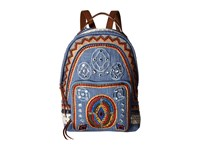 Sam Edelman Rashida Backpack Denim Multi Backpack Bags Blue