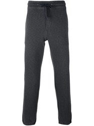 James Perse Drawstring Track Pants Grey