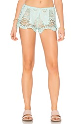Eberjey Spirit Dancer Sam Shorts Mint