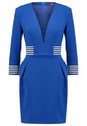 Elisabetta Franchi Cocktail Dress Party Dress Cobalto Royal Blue