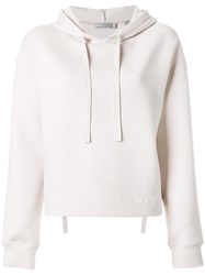 Vince Basic Hoodie Nude And Neutrals