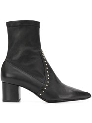 Fabio Rusconi Studded Ankle Boots Black
