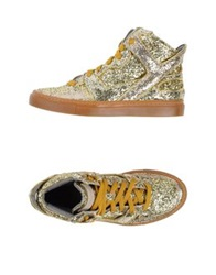 Giacomorelli High Tops And Trainers Gold