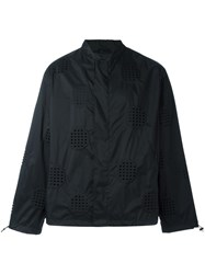 Craig Green Perforated Bomber Jacket Black