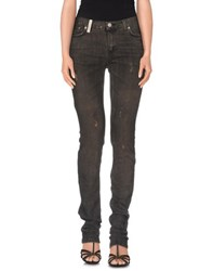 John Richmond Denim Denim Trousers Women Steel Grey