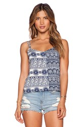 Toby Heart Ginger Mix And Match Tank Blue