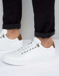 D Struct Trainers White