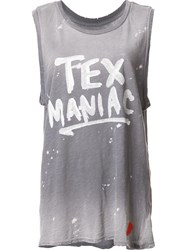 Junk Food Texmaniac Tank Top Grey