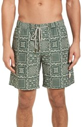 Reyn Spooner Original Lahaina Swim Trunks Forest