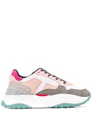 Tod's Chunky Sole Sneakers Pink
