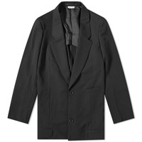 Comme Des Garcons Homme Plus Single Breasted Jacket Black