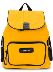 Tommy Hilfiger Varsity Backpack Yellow