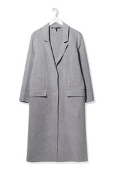 Handmade Wool Duster Coat By Boutique Grey