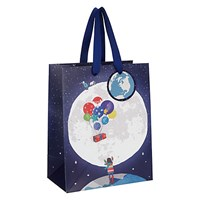 John Lewis Man On The Moon Bag Small