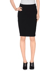 Selected Femme Knee Length Skirts Black