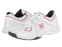 Wilson Nvision Gray Coal Men's Tennis Shoes White