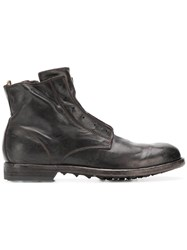 Officine Creative Graphis Ankle Boots Brown