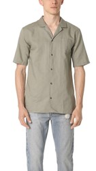 Zanerobe Camper Box Short Sleeve Shirt Fatigue