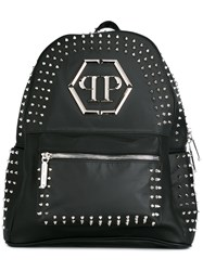 Philipp Plein Major Backpack Black