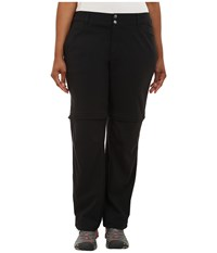 Columbia Plus Size Saturday Trail Ii Convertible Pant Black Women's Casual Pants