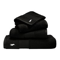 Ralph Lauren Home Player Towel Black