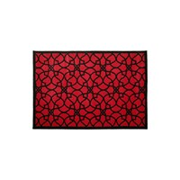 Amara Rectangle Rug 140X200cm Pink Black