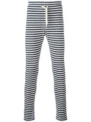 Junya Watanabe Comme Des Garcons Man Striped Trousers Black