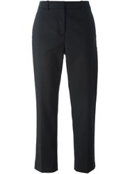 3.1 Phillip Lim Cropped Tailored Trousers Black