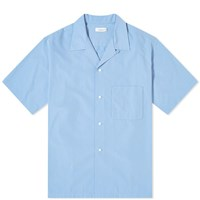 Nanamica Open Collar Wind Shirt Blue