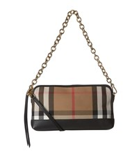 Burberry Shoes And Accessories House Check Clutch Bag Female Camel