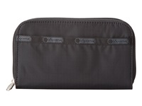 Le Sport Sac Lily Black Checkbook Wallet
