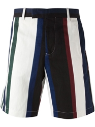 Marni Striped Bermuda Shorts Multicolour