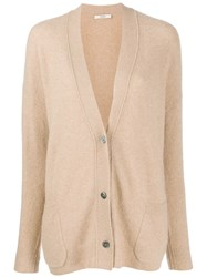 Odeeh Long Sleeve Cardigan Neutrals