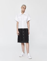 Stussy Clyde Reversible Skirt In Black