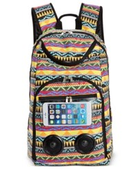 Lugblu Bluetooth Speaker Backpack Only At Macy's Aztec