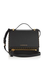 Givenchy Pandora Box Small Leather Shoulder Bag Black