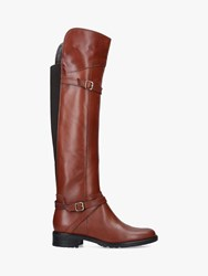 43ef97ef2f5 Carvela Comfort Viv Knee High Boots Tan Leather