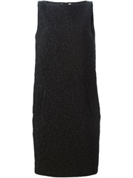 Michael Kors Rear Box Pleat Dress Black