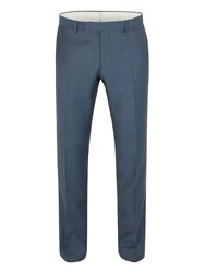 Racing Green Harris Jaspe Tailored Fit Trouser Airforce Blue