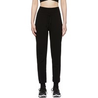 Live The Process Black Knit High Waisted Lounge Pants