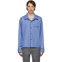 Maison Martin Margiela Blue Cotton Shirt